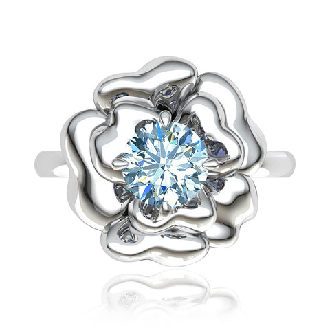 Monarch Halo Diamond Ring