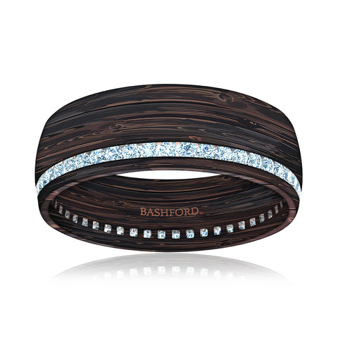 Grand Teton Mokume Band (8 mm)