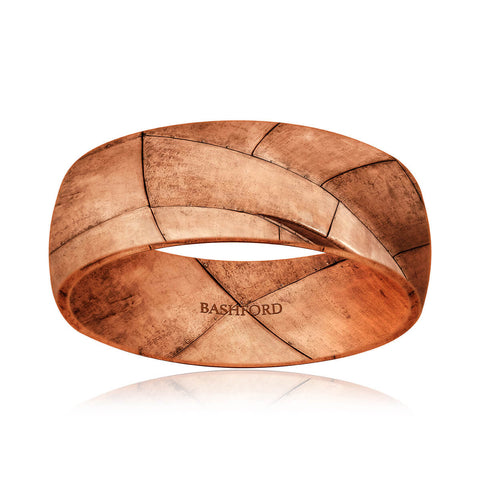 Bergamo Mokume Band (8 MM)