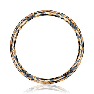 Panthera Mokume Diamond Band (3/4 ct. tw.)