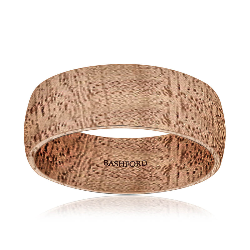 Perdiccas Mokume Wedding Band (7 mm)