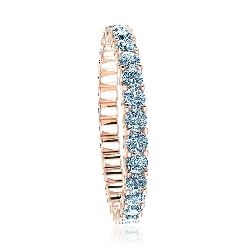 Round Diamond Eternity Ring (1 ct. tw.)