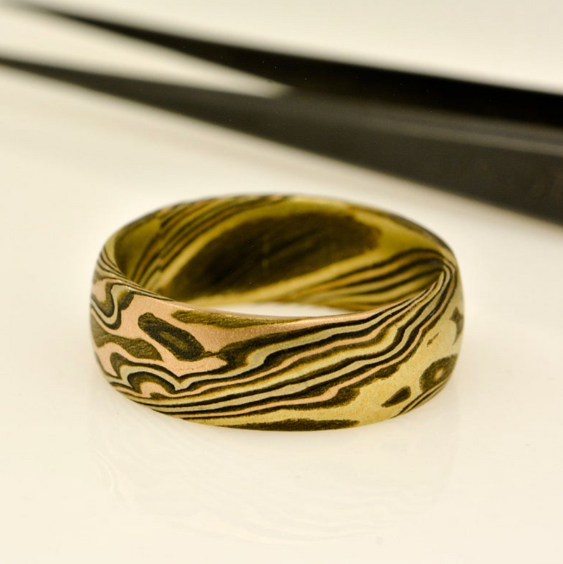 Blyde River Canyon Mokume Ring