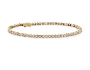 Milgrain Diamond Tennis Bracelet  (1 1/2 ct. tw.)