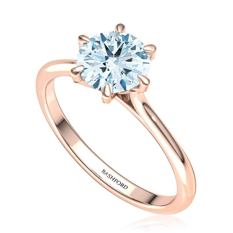 Classic Six-Prong Solitaire Ring