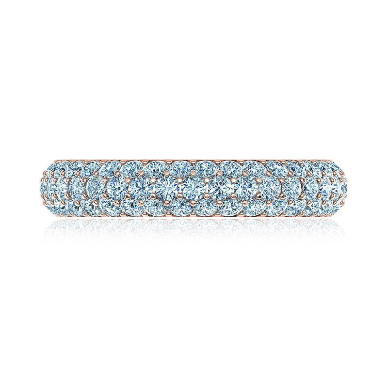 Trio Micropavé Diamond Wedding Ring (1 ct. tw.)
