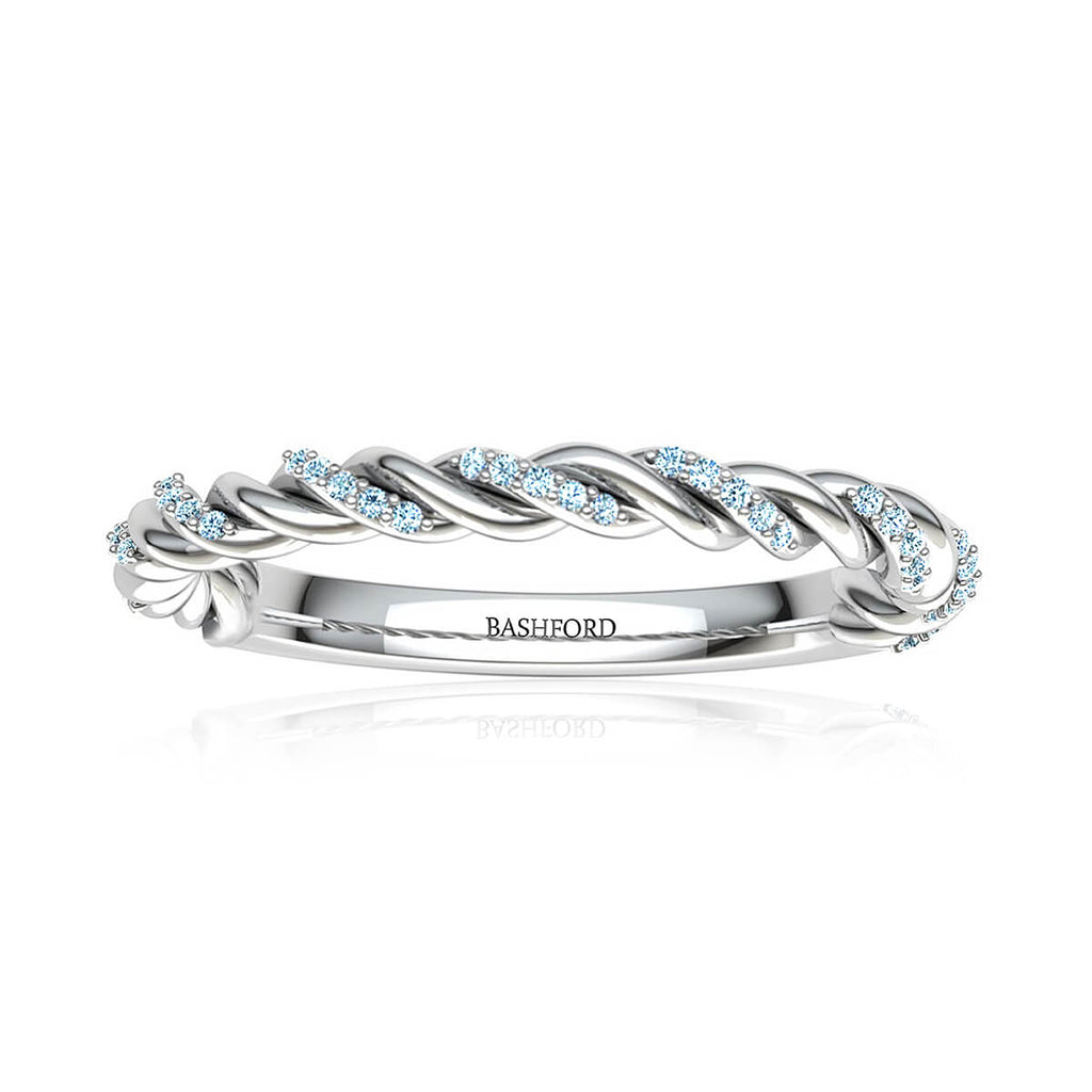 Twist Love Pave Ring (2/5 ct. tw.)