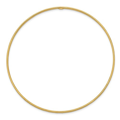 Clare Diamond-Cut Slip-On Bangle Bracelet