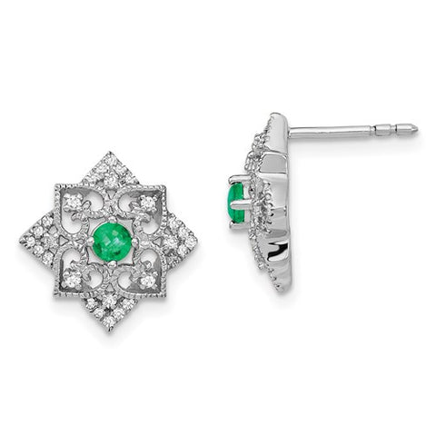 J'adore Diamond Stud Earrings