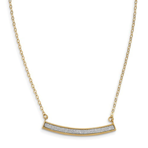 14K Infinity Necklace