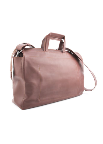 Porte-Document STANDARD SATCHEL en Cuir Brun|Brown STANDARD SATCHEL Leather Briefcase