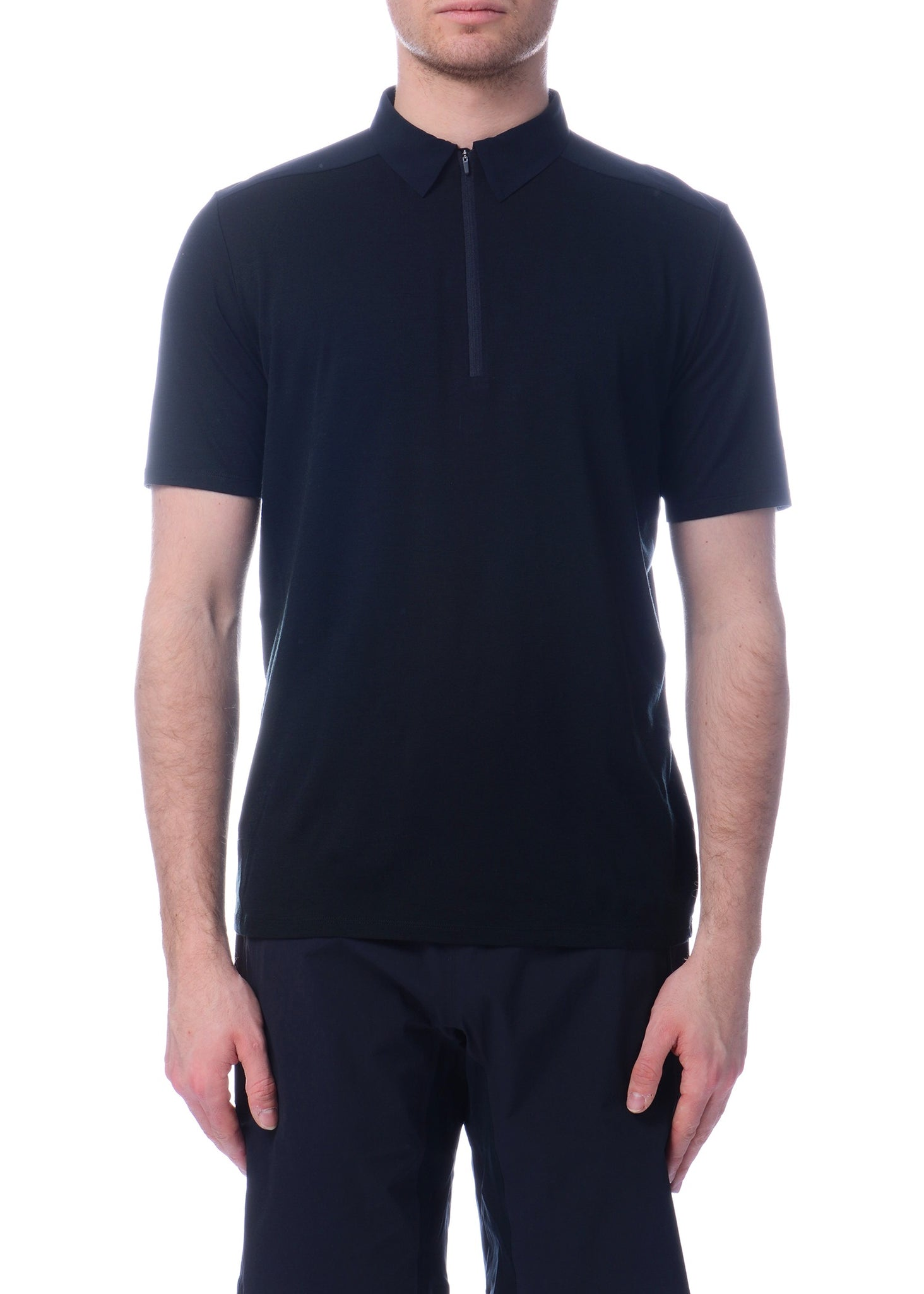 Polo FRAME Noir|Black FRAME Polo Shirt