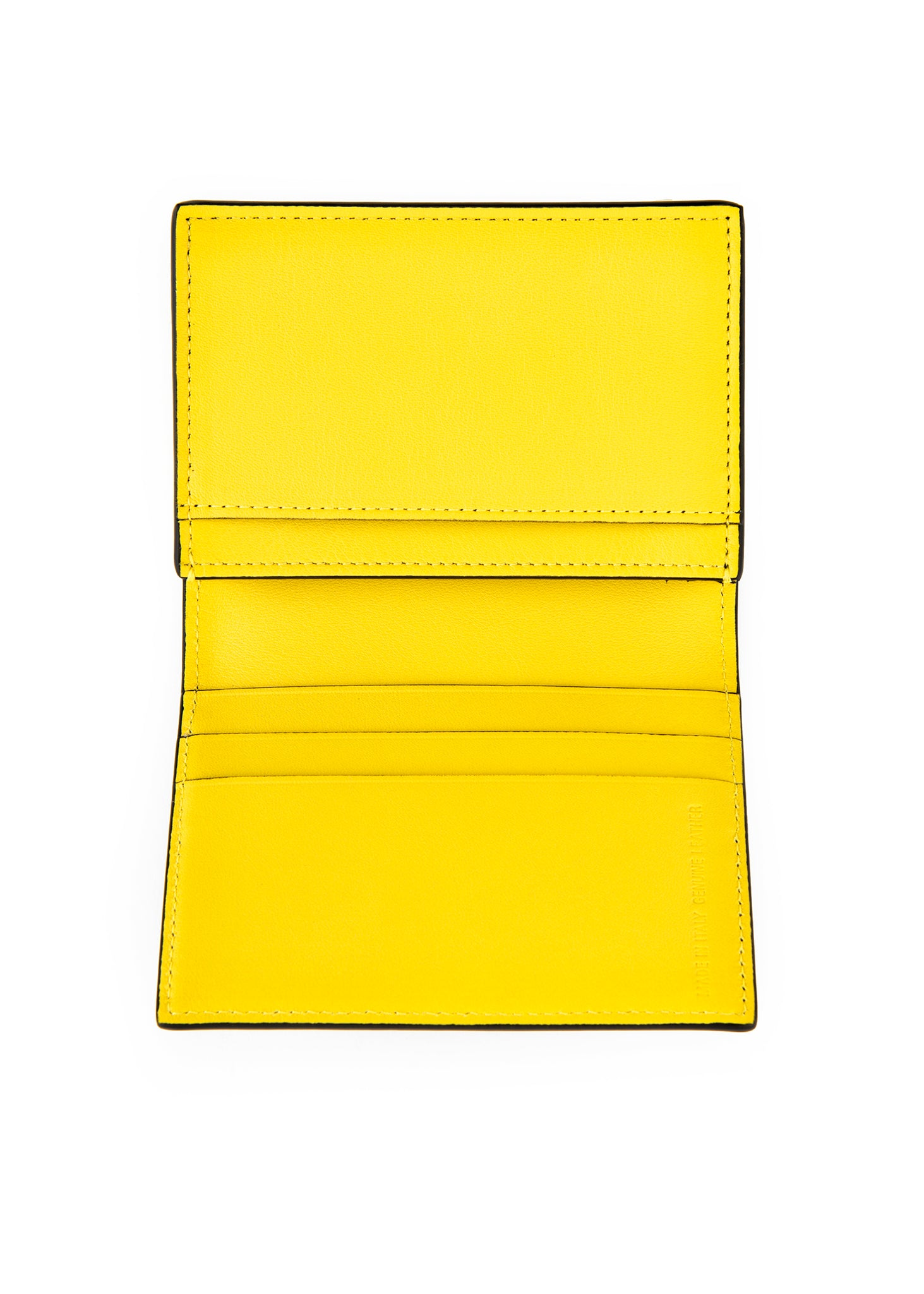 Porte-cartes noir et jaune|Black and yellow cardholder