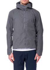 Manteau gris Isogon|Grey Isogon coat