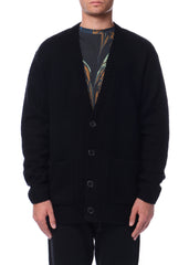 Cardigan noir|Black cardigan