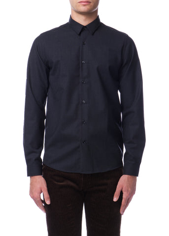 Chemise en Laine Charcoal|Charcoal Wool Shirt