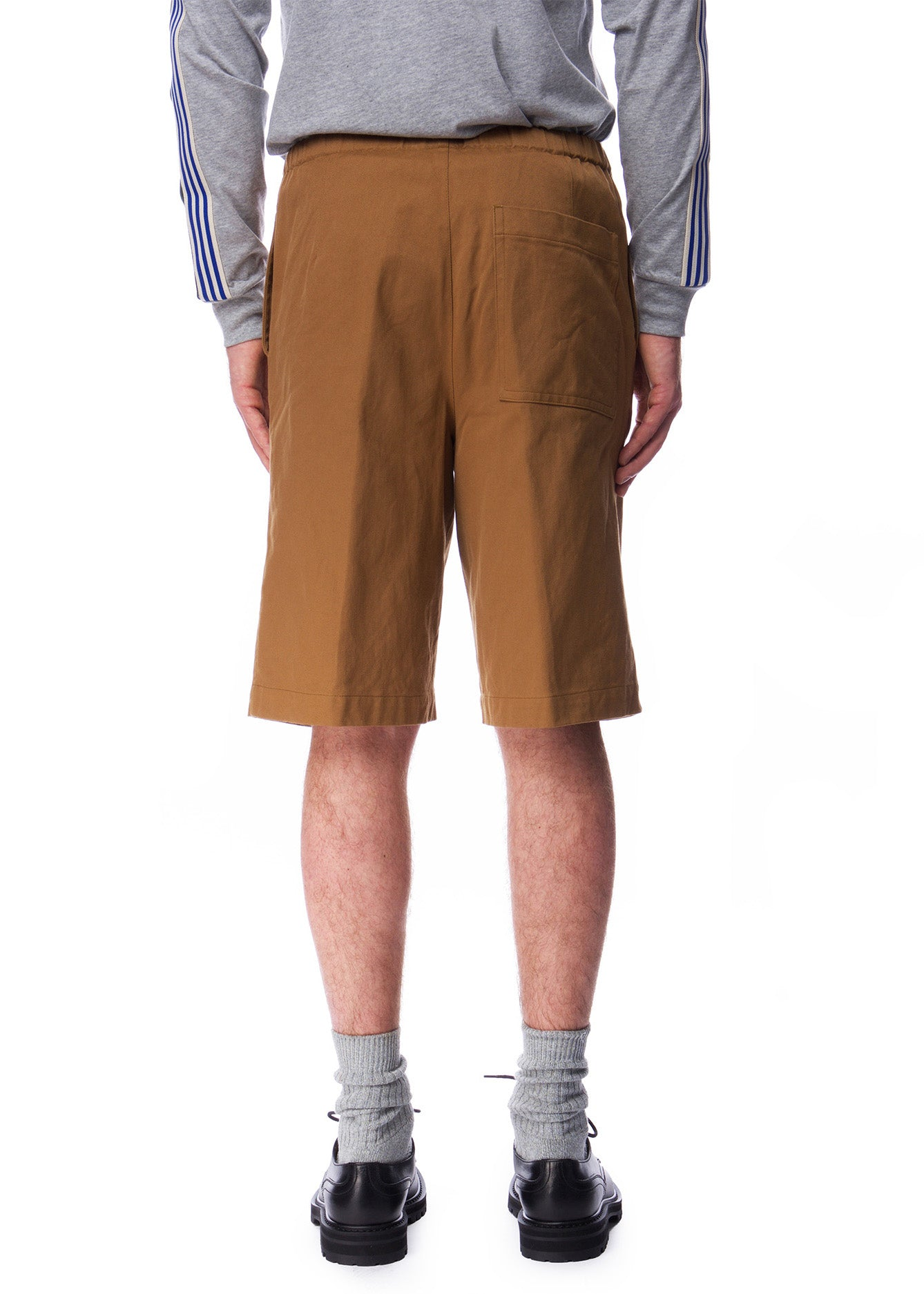Short en Coton Brun|Brown Cotton Shorts