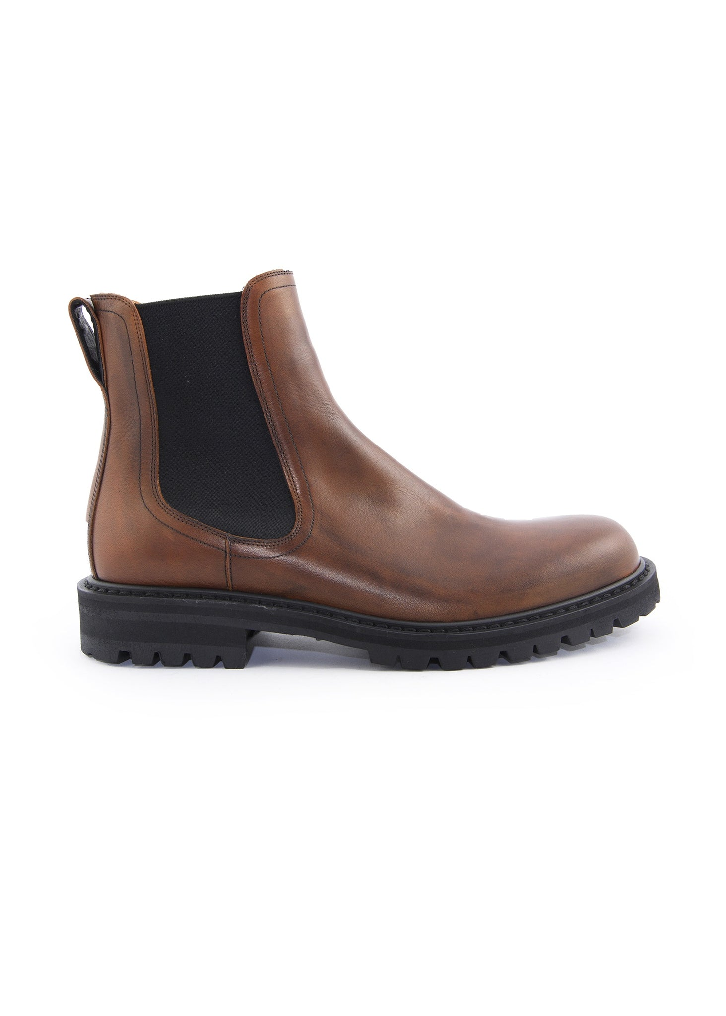 Bottes Chelsea en Cuir Brunes|Brown Leather Chelsea Boots