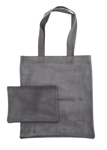 Sac ULTRA SOFT TOTE en Cuir Noir Black Leather ULTRA SOFT TOTE Bag