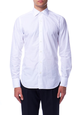 Chemise Blanche en Cotton|White Cotton Shirt