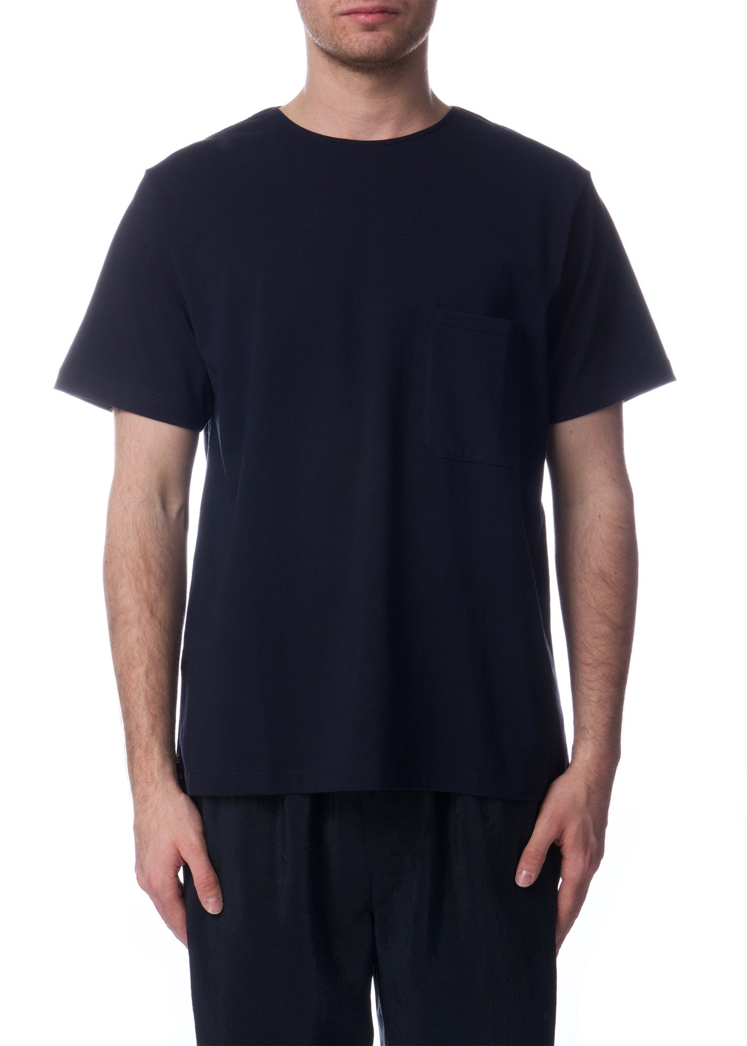 T-shirt à Manches Courtes Marine|Navy Short Sleeve T-shirt