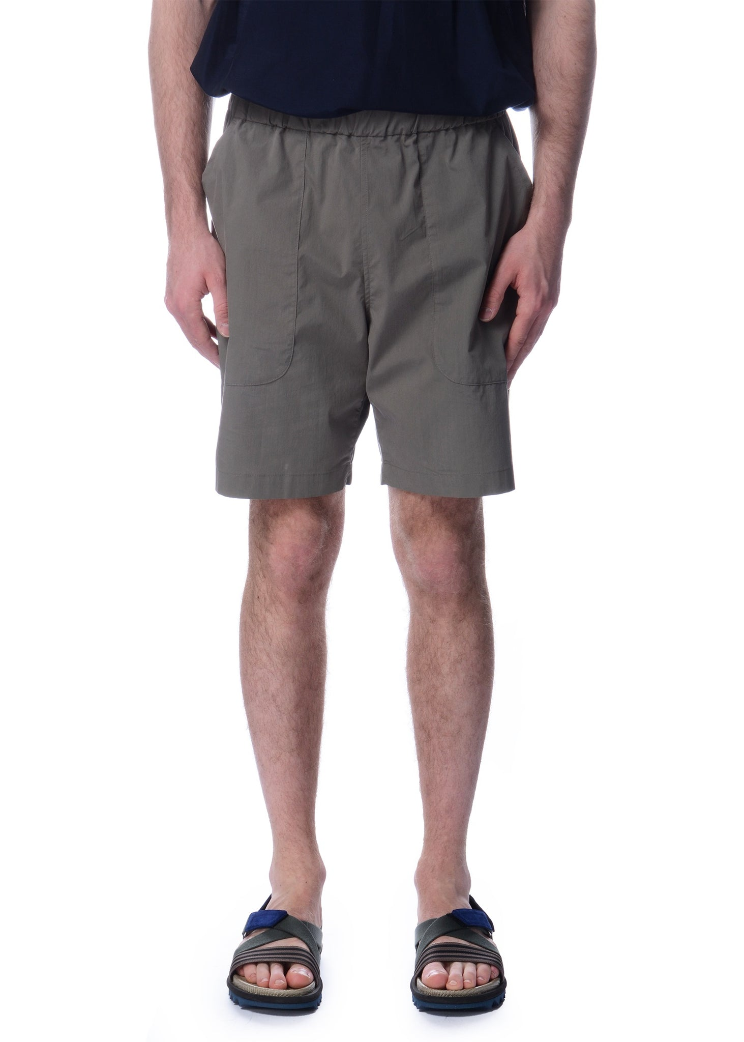 Short Ample Beige|Beige Relaxed Shorts