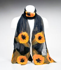 WEARABLE ART - Gold Poppies