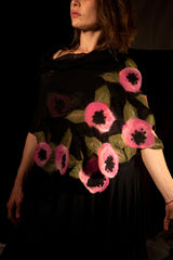 WEARABLE ART - Pink Poppies