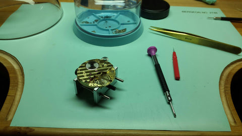 american made watch movement