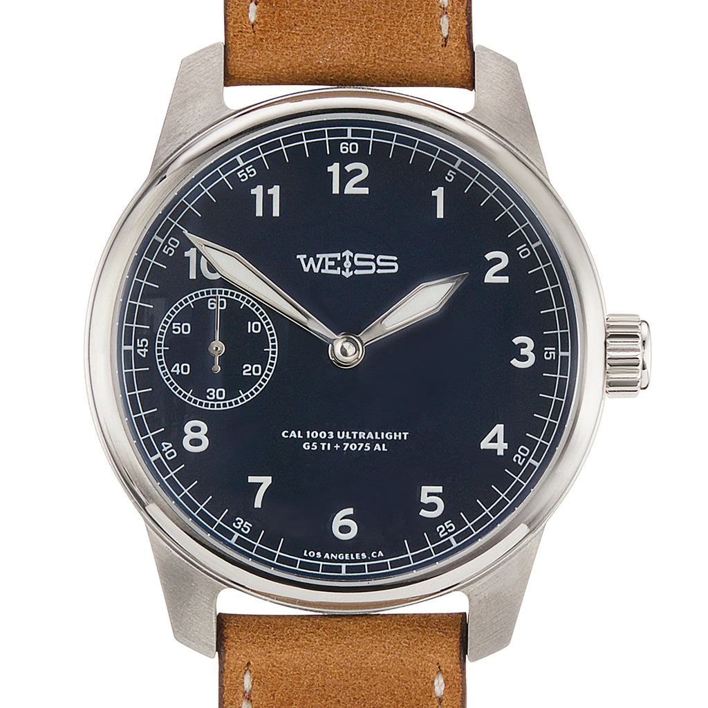 *Limited Edition* Weiss 42mm Titanium American Issue Field Watch | Ultralight with Aluminum CAL 1003
