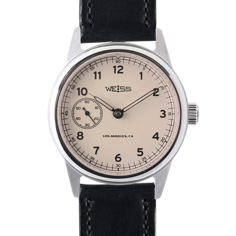 Weiss 38mm Limited Automatic Issue Field Watch | Latte Dial