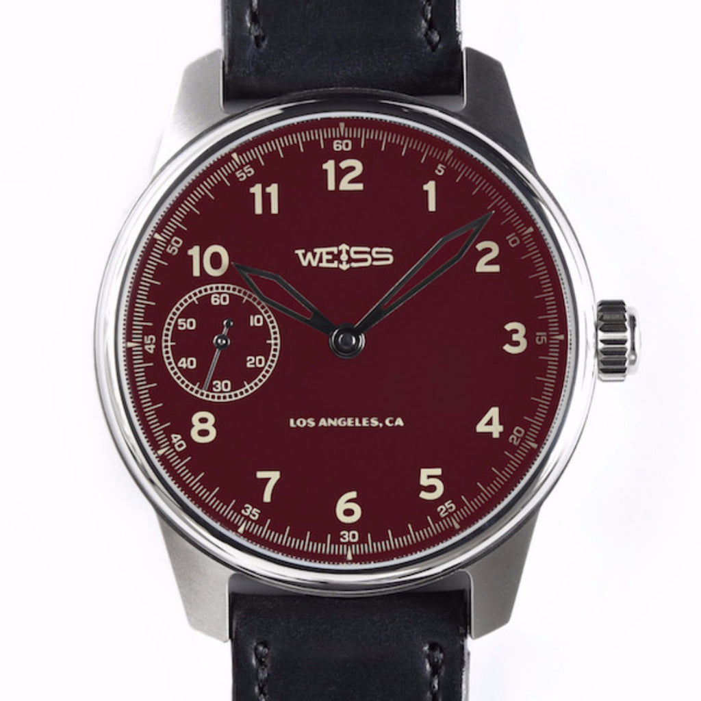 Special Issue Field Watch | Deep Red Dial