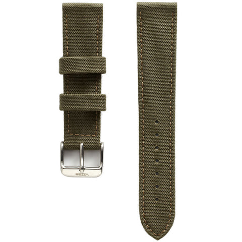 Green Canvas Strap