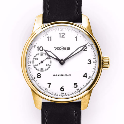 Executive Issue Field Watch White Dial 18k Yellow Gold