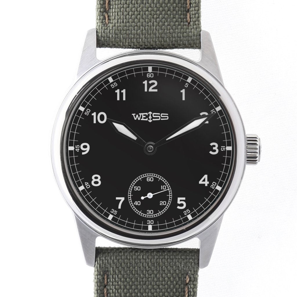 New 38mm Standard Issue Field Watch - Black Dial