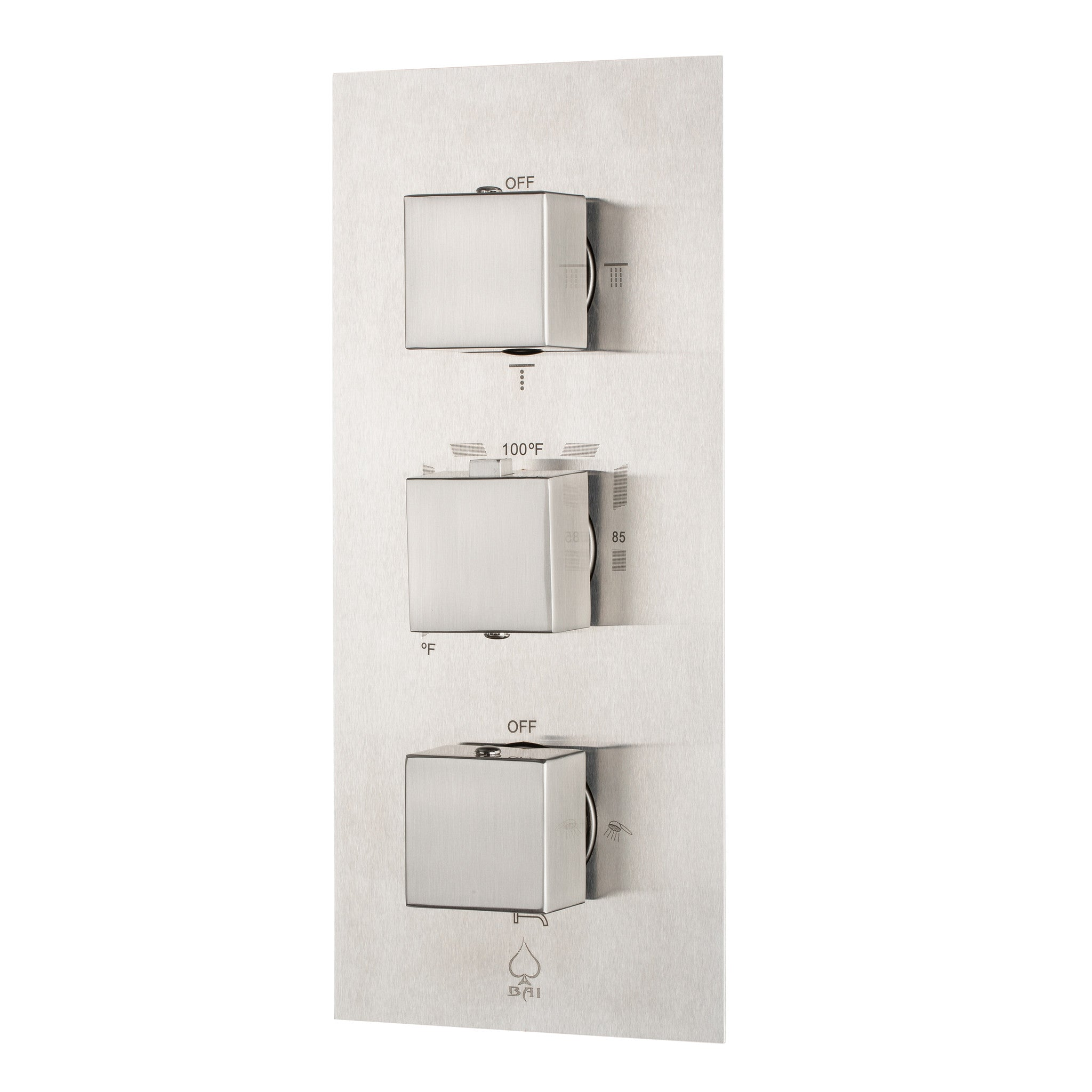 BAI 0125 Concealed Thermostatic Shower Mixer / Valve 4-6 Functions ...