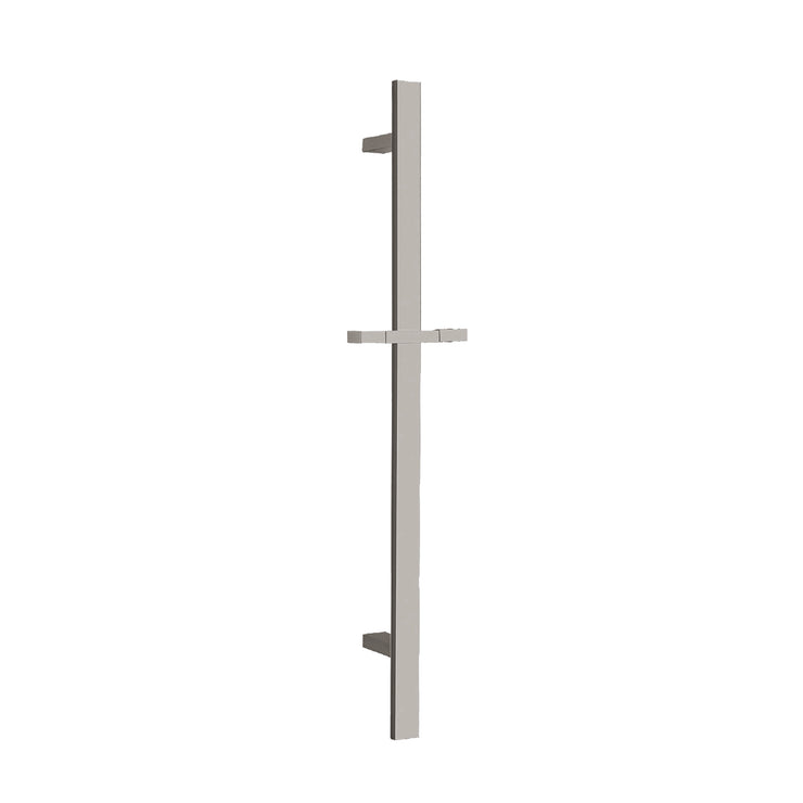 BAI 0152 Handheld Shower Holder Sliding Bar in Brushed Nickel Finish