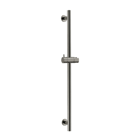 BAI 0153 Handheld Shower Holder / Round Sliding Bar / Brushed Nickel