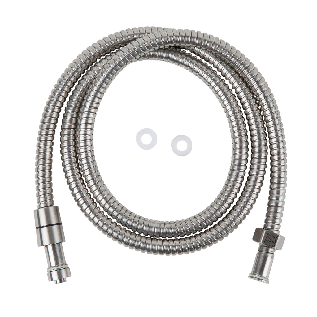 BAI 0158 Super-Flex Shower Hose Stainless / Brushed Finish