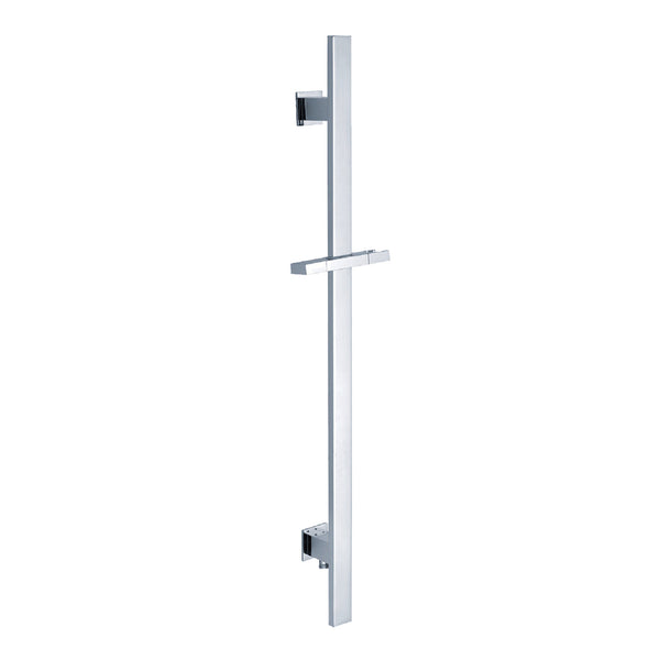 BAI 0171 Handheld Shower Holder / Square Sliding Bar / Integrated Hose Connection