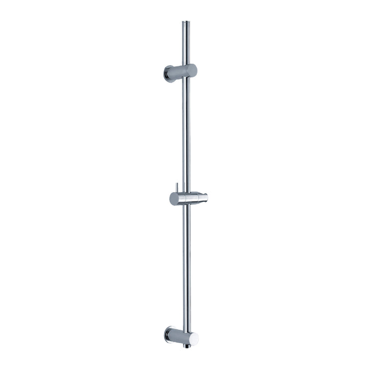 BAI 0172 Handheld Shower Holder / Round Sliding Bar / Integrated Hose Connection