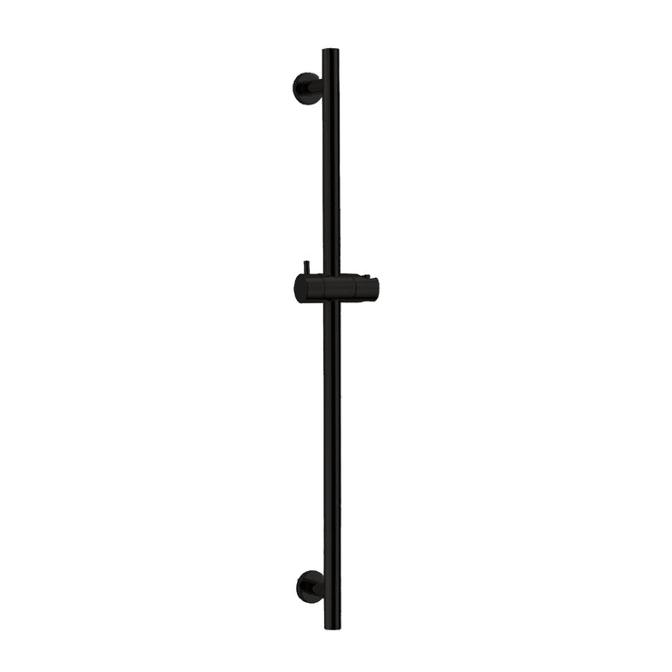 BAI 0178 Handheld Shower Holder Sliding Bar in Matte Black Finish