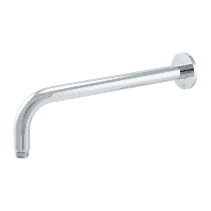 BAI 0425 Wall Mounted 12-inch Shower Head Arm in Polished Chrome Finish