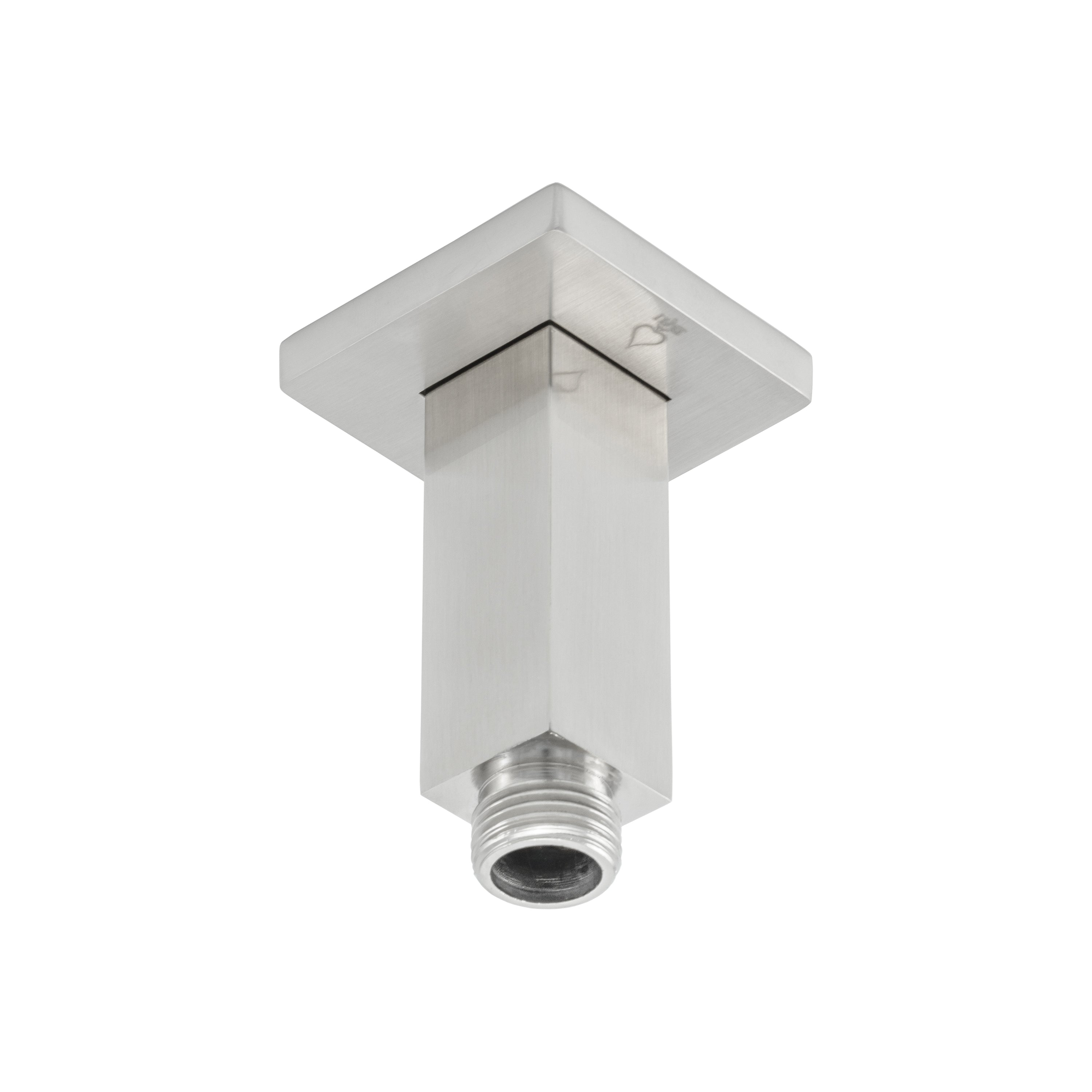 Bai 0432 Ceiling Mounted 3 Inch Shower Head Arm In Brushed