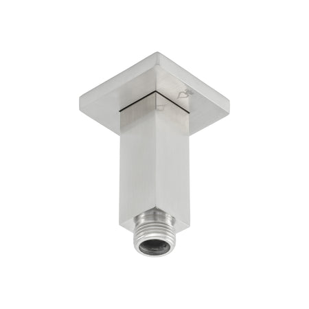 BAI 0432 Ceiling Mounted 3-inch Shower Head Arm in Brushed Nickel Finish