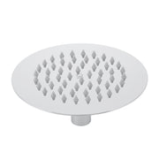 BAI 0440 Stainless Steel 6-inch Round Rainfall Shower Head in Polished Chrome Finish