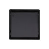 BAI 0506 Stainless Steel 5-inch Square Shower Drain in Matte Black