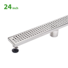 BAI 0550 Stainless Steel 24-inch Linear Shower Drain
