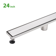 BAI 0556 Stainless Steel 24-inch Linear Shower Drain