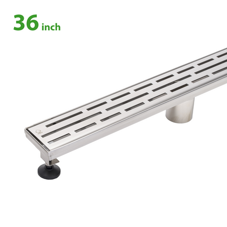 BAI 0564 Stainless Steel 36-inch Linear Shower Drain